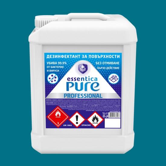 Surface disinfectant essentica pure professional 5l.