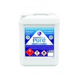 Surface disinfectant essentica pure professional 5l.