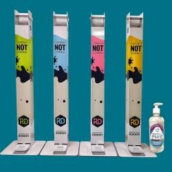 Mechanical disinfection station RD Box Slim