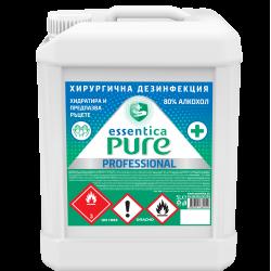 Hand sanitizer essentica pure - 5l.