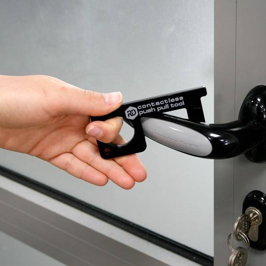 Pocket contactless key for opening doors