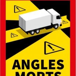 Set of mandatory stickers ANGLES MORTS - 5 pcs.