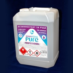 Hand sanitizer essentica pure - 5l.